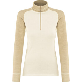 Devold Duo Active Zip Neck Maillot Mujer, offwhite